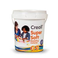 Creall Supersoft Klei 5 kleuren, 450gr.