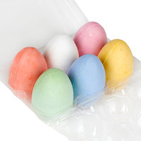 Crayola Stoepkrijt Eieren, 6st.