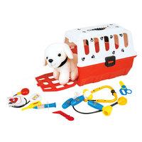 Hond in Koffer XL Dokter Dierenarts