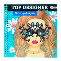 Top Designer Schetsboek - Feest met Stickers