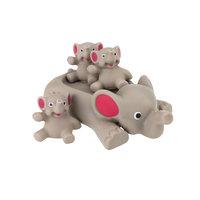 Grote Badolifant met 3 olifantjes