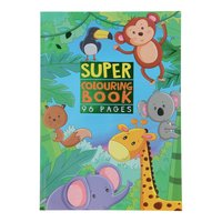Super Kleurboek - Wilde Dieren
