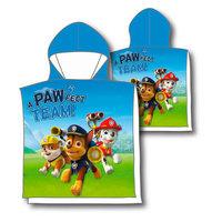 Poncho Paw Patrol, 60x120cm