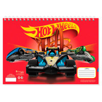 Schetsboek Hot Wheels met Stencils en Stickers