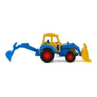 Polesie Tractor met Voorlader Blauw
