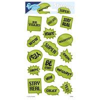 Stickervel Reflecterend - Tekstballonnen