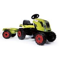 Smoby Tractor Claas met Trailer