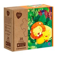 Clementoni Play for Future Puzzel - Jungle, 2x20st.