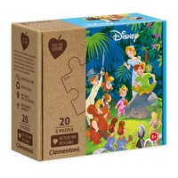 Clementoni Play for Future Puzzel - Disney Classics, 2x20st.