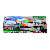 Tack Pro® Rattle Belt X Set met 40 darts en accessoires
