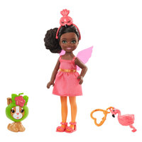 Barbie Chelsea Verkleed pop - Flamingo