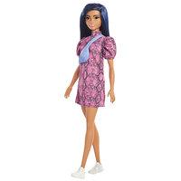 Barbie Fashionistas Pop - Slangenprint Jurk