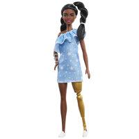 Barbie Fashionistas Pop - Jurk met Sterrenprint