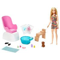 Barbie Pop met Pedicure