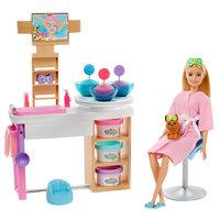Barbie Gezichtsmasker Spadagje Speelset - Blond