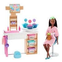 Barbie Gezichtsmasker Spadagje Speelset - Bruin