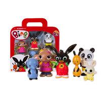 Bing Koffer met 5 Speelfiguren