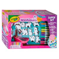 Crayola Washimals - Deluxe Play Set