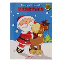 Pop-up Stickerboek Kerstmis