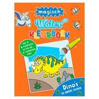 Magisch Waterkleurboek - Dino's en andere figuren