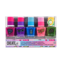 Create It! Color Changing Nagellak, 5st - Combi Pack