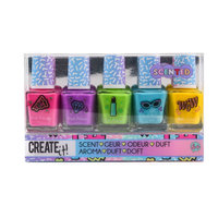 Create It! Nagellak Geur, 5st - Combi Pack