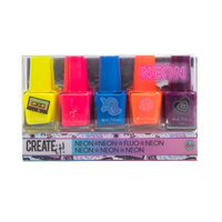 Create It! Neon Nagellak, 5st