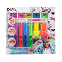 Create It! Make-up Set, 7dlg - Neon & Glitter