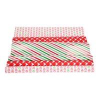 Inpakpapier Kerst, 3 rollen x 3 mtr.