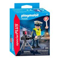 Playmobil 70305 Politieman met Flitscontrole