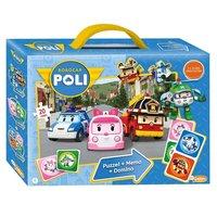 Robocar Poli - 3in1 Spellenbox
