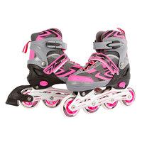 Inline Skates Roze/Grijs, maat 39-42