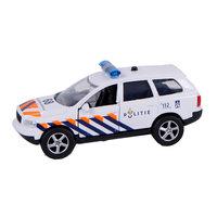 2-Play Die-cast Pull Back Politie NL Licht en Geluid