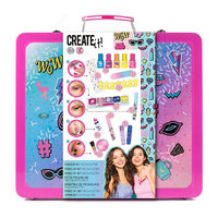 Create It! Make-up Set in Luxe Koffer - Neon & Glitter