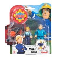 Brandweerman Sam Speelfiguren - Penny en Gareth