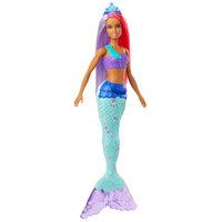 Barbie Dreamtopia Zeemeermin met Roze/Paars Haar