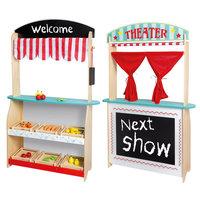 Joueco Theater en Winkel met Accessoires, 2in1