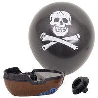 Ballon Boot Piraat