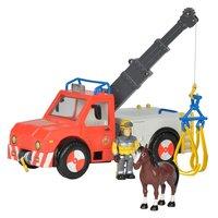 Brandweerman Sam Phoenix met Speelfiguur en Paard