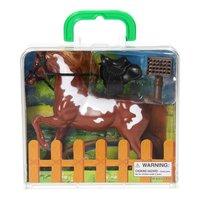 Speelkoffertje Paard
