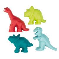 Ecoiffier Zandvormen Dino, 4 stuks