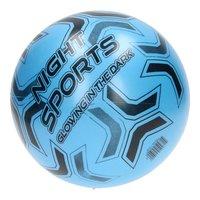 Voetbal Glow in the Dark - Blauw