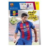 Muursticker FC Barcelona SUAREZ