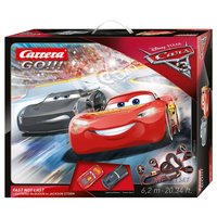 Carrera GO!!! Racebaan - Cars 3 Fast not Last