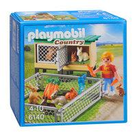 Playmobil 6140 Konijnenhok met Buitenren