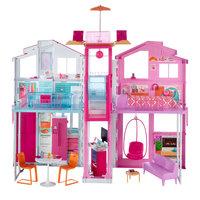 Barbie Malibu Huis met 3 Verdiepingen