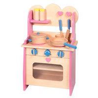 Keuken Hout Roze