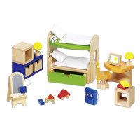 Poppenhuis Kinderslaapkamer