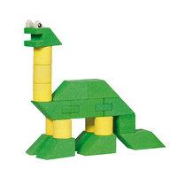Houten Stapel Dinosaurus, 23dlg.