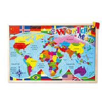 Houten Puzzel Wereldkaart